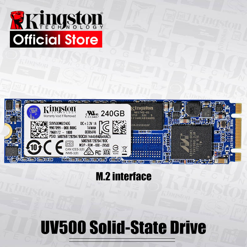 Kingston UV500 SSD Interne Solid State Drive M.2 120 gb 240 gb 480 gb SATA 3 M2 Disque Dur HDD HD SSD Pour ordinateur portable