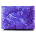 """1PC Newest Purple Painting Laptop Body Shell Protective Hard Case for Apple Macbook Air 11"""" 13 / Pro 13 15 / Pro Retina 12 13 15"""