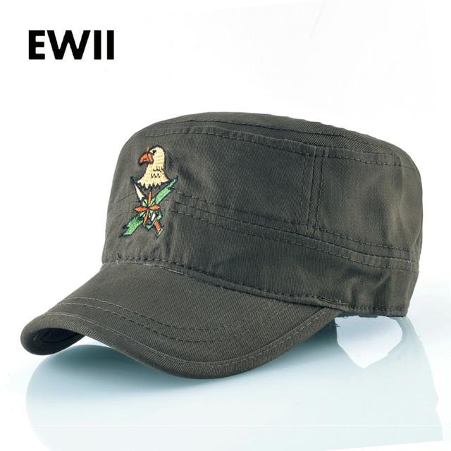 bb8b32f051b 2018 Hip hop flat top cap men army baseball caps casquette men camouflage  snapback hat women adjustable embroidery casual hats