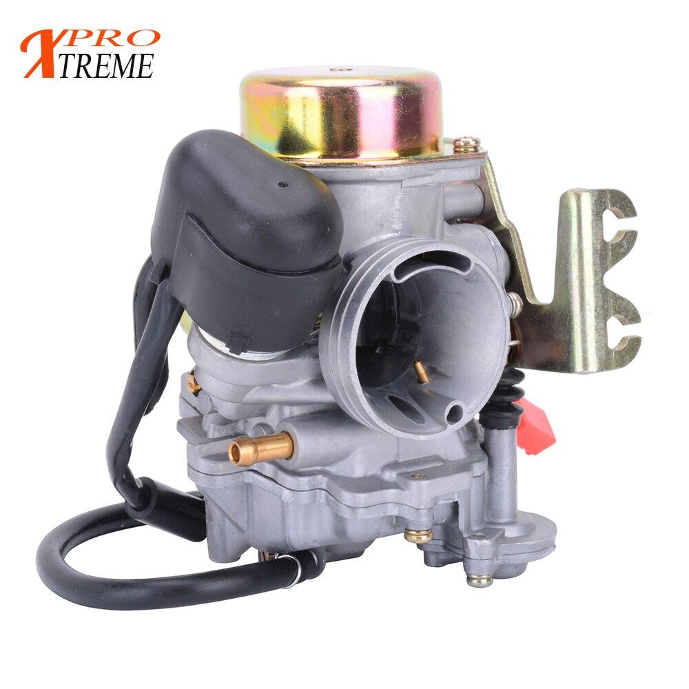 US $34 8 20% OFF|Motorcycle Carburetor 32mm CVK32 Carb Aluminum For Keihin  Scooter QUAD ATV GY6 150CC 200CC 250CC Engine-in Carburetor from