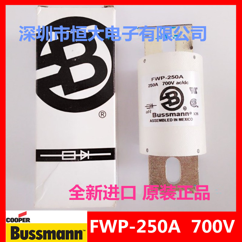 FWP-250A original BUSSMANN Basman fast fuse fuse 700V250A american original fuse bussmann 170m1371 170m1371d 250a 690v fuse page 8