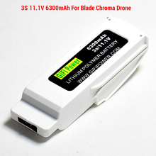 3S 11.1V 6300mAh LiPo Battery for Blade Chroma Drone RC FPV Quadcopter Lipolymer Chro