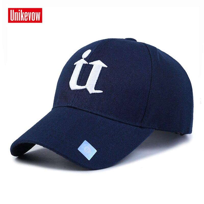 13c5b786b210f9 1Piece Baseball Cap Men Outdoor Sports Golf leisure hats U letter  embroidery sport cap for men
