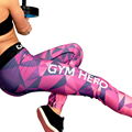 2017 New Fitness Leggings Women Patchwork Letter Print Leggins Fashion Camouflage Pants Fit Body Leggins