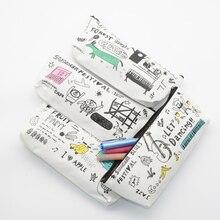 pencil case kawaii lapiz etui pennen estuche piornik kalem kutusu High capacity school supplies capacidad bag papeleria material