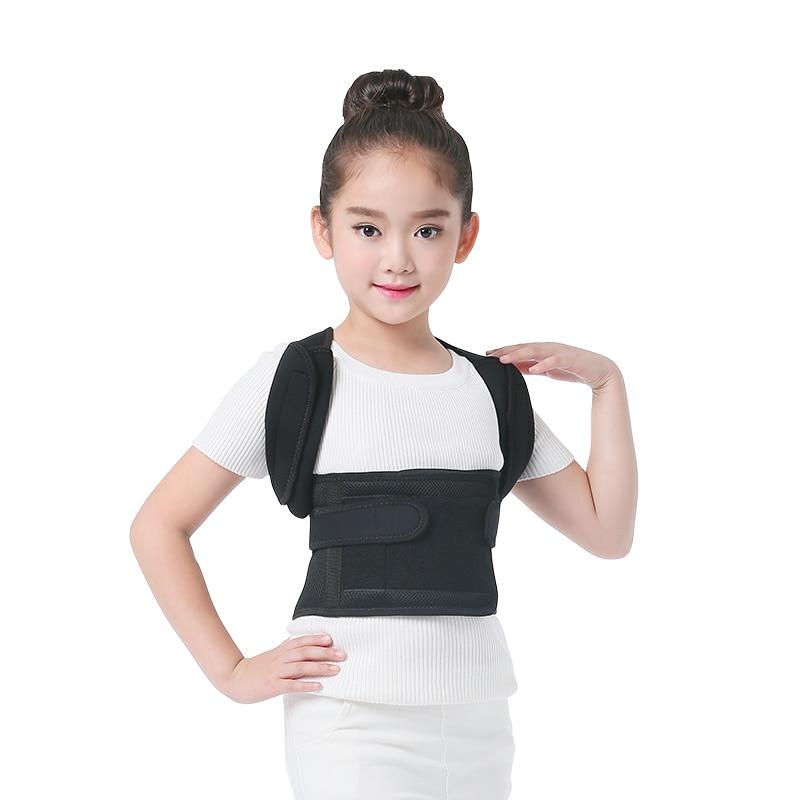Chaves e Suporta postura cinta corrector ombro fita Color : Black
