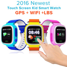 Q90 GPS LBS SOS Kids Children Baby Touch Screen Smart Watch Smartwatch Wristwatch Tracker locater Monitor