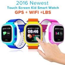 Q90 GPS Smartwatch Дети/Дети/Детские Smart Watch Сенсорный Экран SOS Вызова Наручные SOS Расположение/DeviceTracker/Анти потерянный Монитор