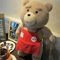 De dibujos animados película felpa 2015 TED ted del oso de peluche 46 CM de Peluche oso Venta Ted Del Oso de Peluche Juguetes de Cumpleaños Novia Navidad regalo