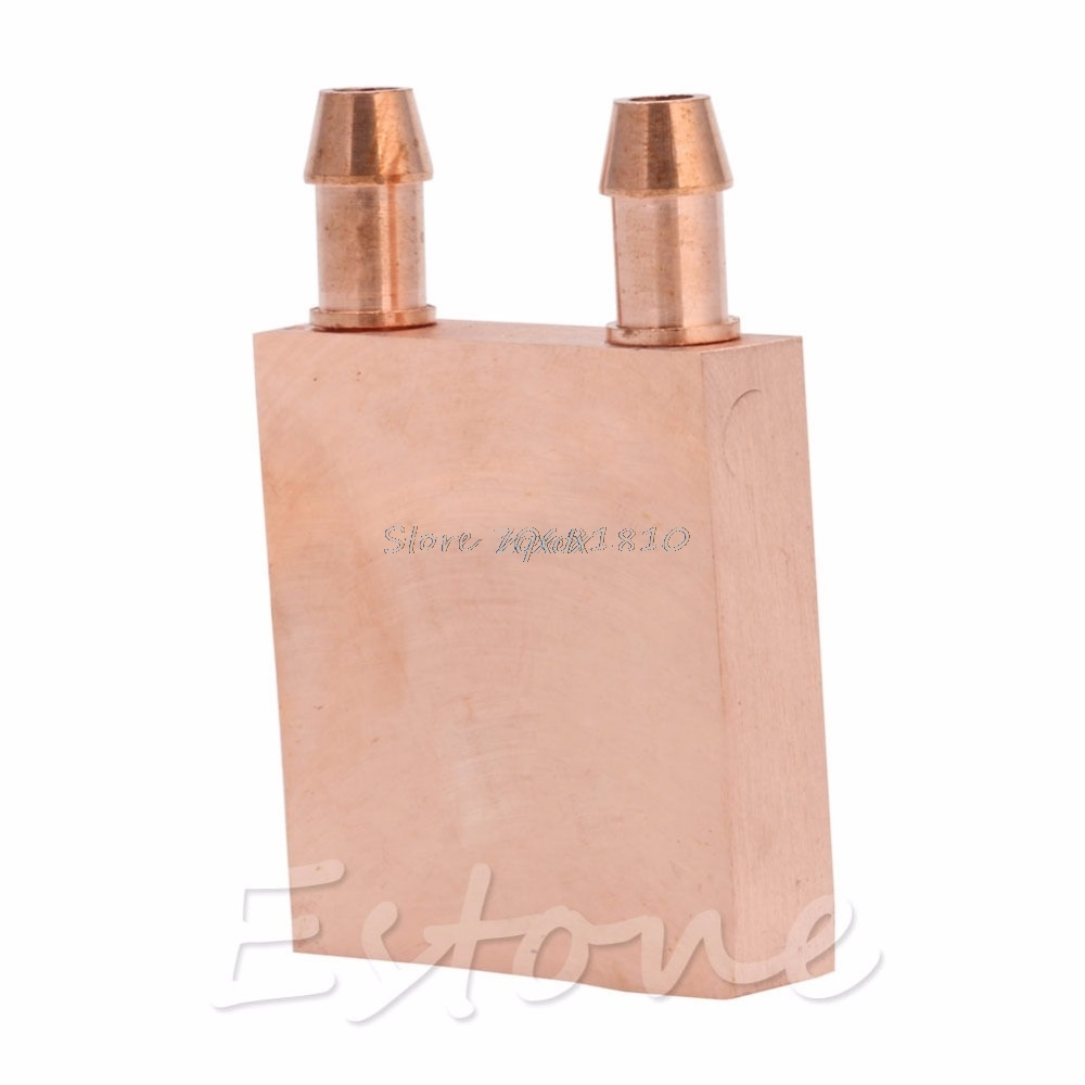 Copper Water Cooling Block CPU PC Computer For Graphics GPU Endothermic Head Hot Z09 Drop ship free shipping 5pcs lot 53 53 14mm pure copper water cooling block computer cpu water block server water cooled radiator