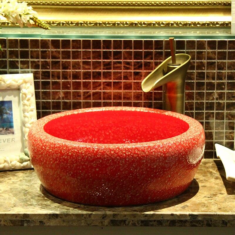 Jingdezhen modern porcelain basin sink Jingdezhen modern porcelain basin sink