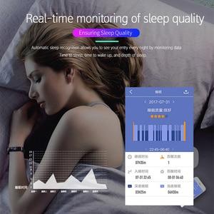 Image 2 - Lerbyee pulsera inteligente M4 con podómetro, monitor, seguidor Fitness del sueño y la presión sanguínea, para hombre y mujer, recordatorio de llamadas
