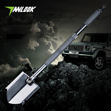 TANLOOK Camping Folding shovel survival tool outdoor lighting self-defense knife Snow shovel hunting supervivencia pala plegable