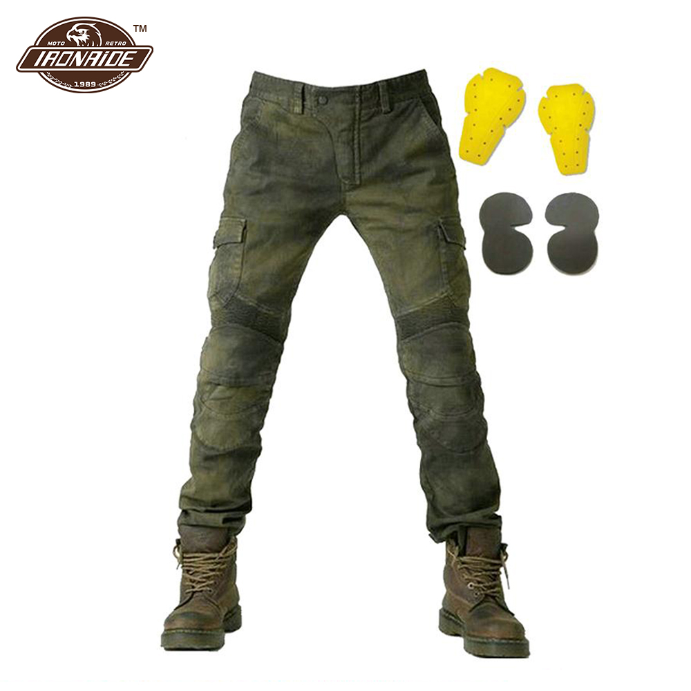 Motorcycle Pants Moto Jeans Trousers Protective Gear Riding Racing Motorbike Dirt Bike Men Motocross Pants Pantalon Moto Pants distressed blue jeans men latin cow brand clothing mid stripe luxury denim destoyed men s moto biker jeans ripped uomo 802 c