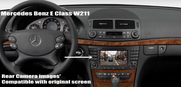 Belakang W211 Layar Benz 2