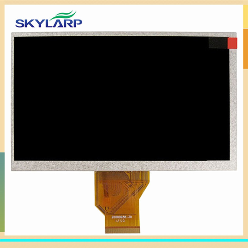 skylarpu 7 inch 3mm TFT LCD Module 800(RGB)*480 for INNOLUX AT070TN92 V.1 TFT LCD display Screen panel (without touch) 11 0 inch lcd display screen panel lq110y3dg01 800 480