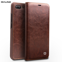 100% Genuine Leather Case For Huawei Honor 10 Case 5.84 inch 100% Cowhide Flip Leather Case For Huawei Honor 10 COL AL00 Cover