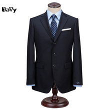 Groom Suit Wedding Suits For Men 2017 Mens Striped Suit Wedding Groom Tuxedo,Tailored 2 Piece Suit Black Wedding Tuxedos For Men