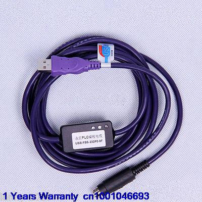 DHL/EUB 10pcs New FATEK PLC programming cable USB-FBS-232P0-9F    015-17 professional integrity plc programming cable usb fbs seconds