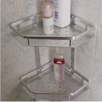 Bathroom Shower Soap Shampoo Rack Holder In Bathroom Shelves From