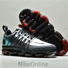 63d3c2febb266 Original Nike Air VaporMax Run Utility Men s Running Shoes Jogging  Breathable Shockproof Outdoor Train Sneakers Size