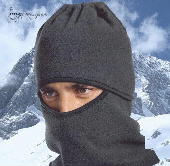 Long Keeper Winter Skullies Unisex Warm Windproof Dust-proof Balaclava Mountbike Riding Cycling Camping Outdoor Sports Cap Hat