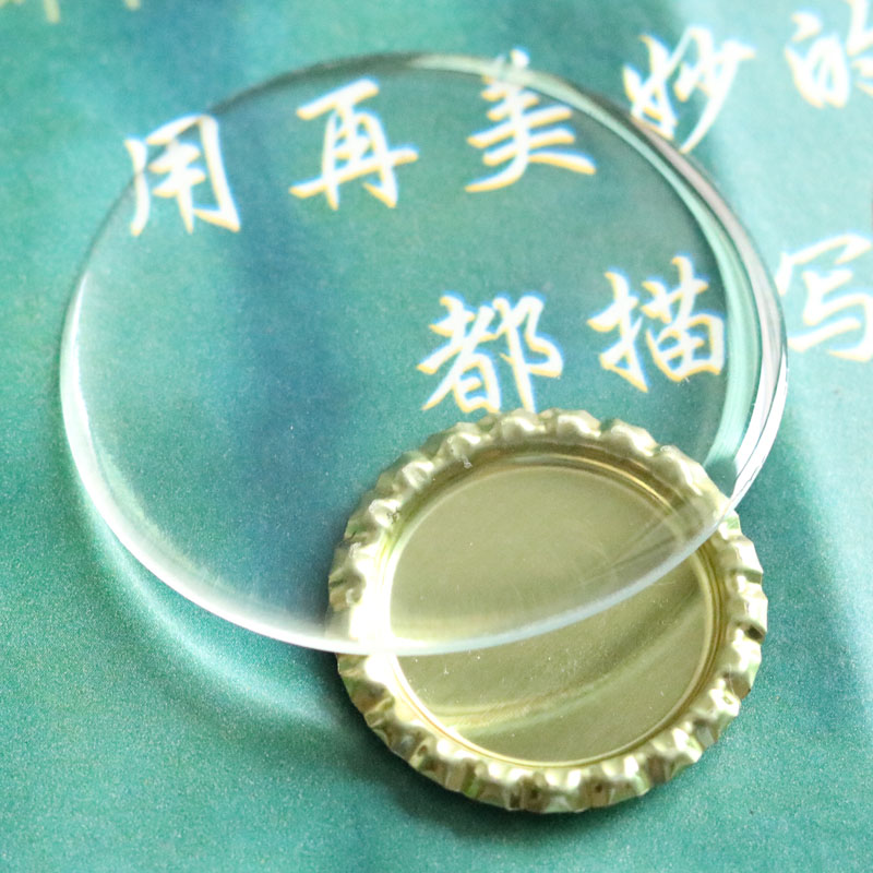 10Piece/Lot 28MM 30MM 40MM 58MM Epoxy Sticker Highly Clear Resin Domes Beads Self Adhesive