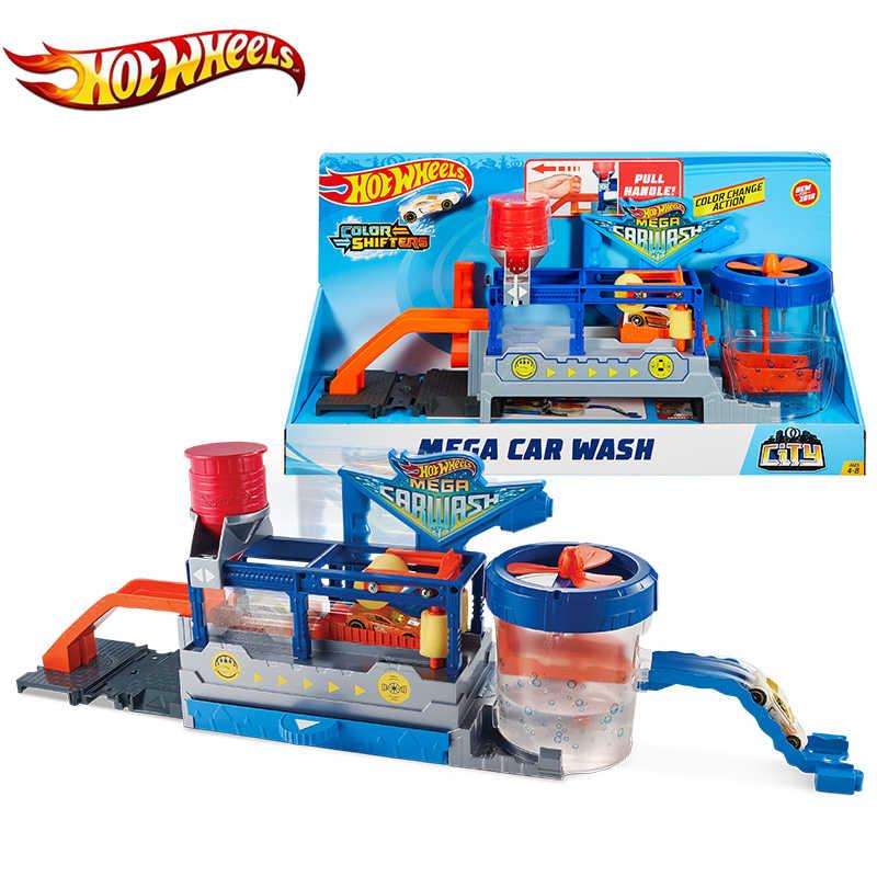 Hot Wheels MEGA CAR WASH Play Set