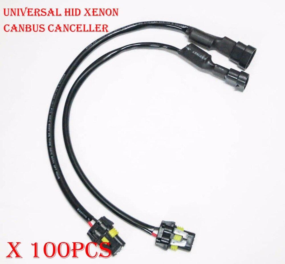 Wire HID Resistor Canceler Error Decoder C 880 H27 Fog Light Flicker Stop Fix