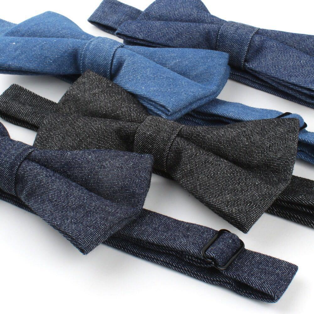 Baumwolle Krawatte Set für Männer Cowboy Krawatte Taschentuch - Bekleidungszubehör - Foto 3