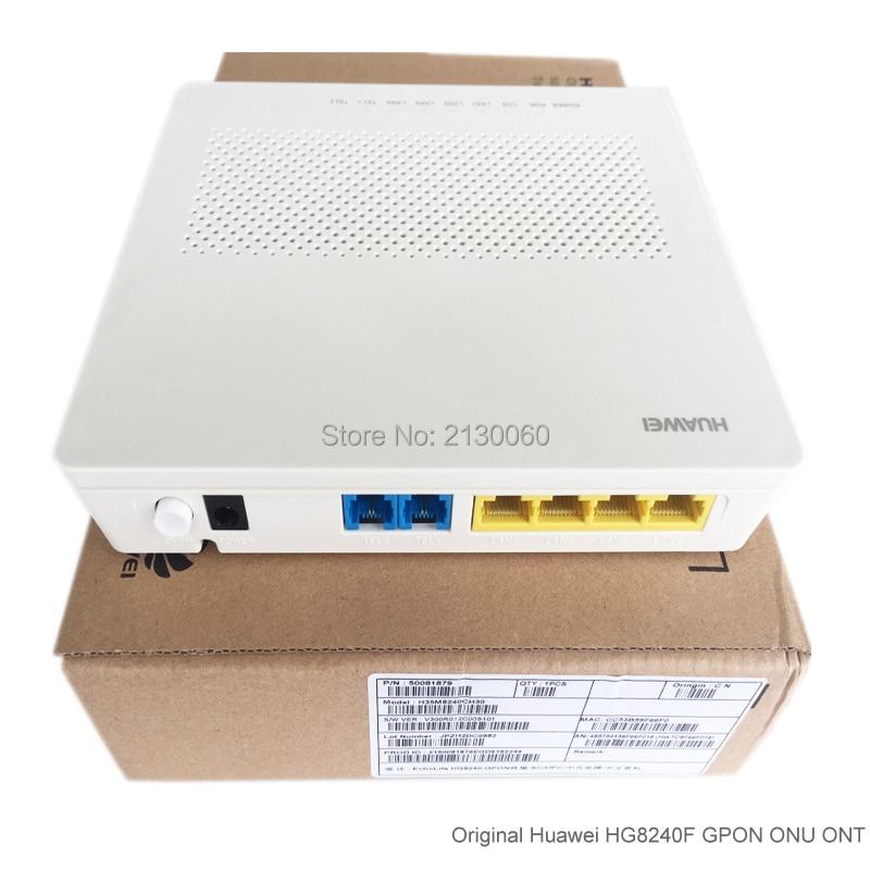 HG8240F GPON Terminal/ONU/ONT, 4 FE+2 Voice Ports, H.248&SIP Protocol, HG 8240F English Version