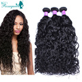 Cambodian Virgin Hair Water and Wavy Human Hair Extensions 3Pcs/Lot Natural Color Water Wet Wave Hair Rosa Queen Hair Products