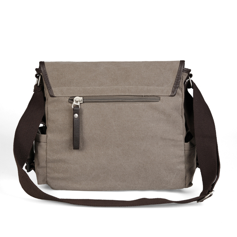 4e6f5ec9a5a0 YOANME Canvas Messenger Bag Vintage Military Style Shoulder Messenger Field  Bag Men Side Pockets Bag SY1386-in Crossbody Bags from Luggage   Bags on ...