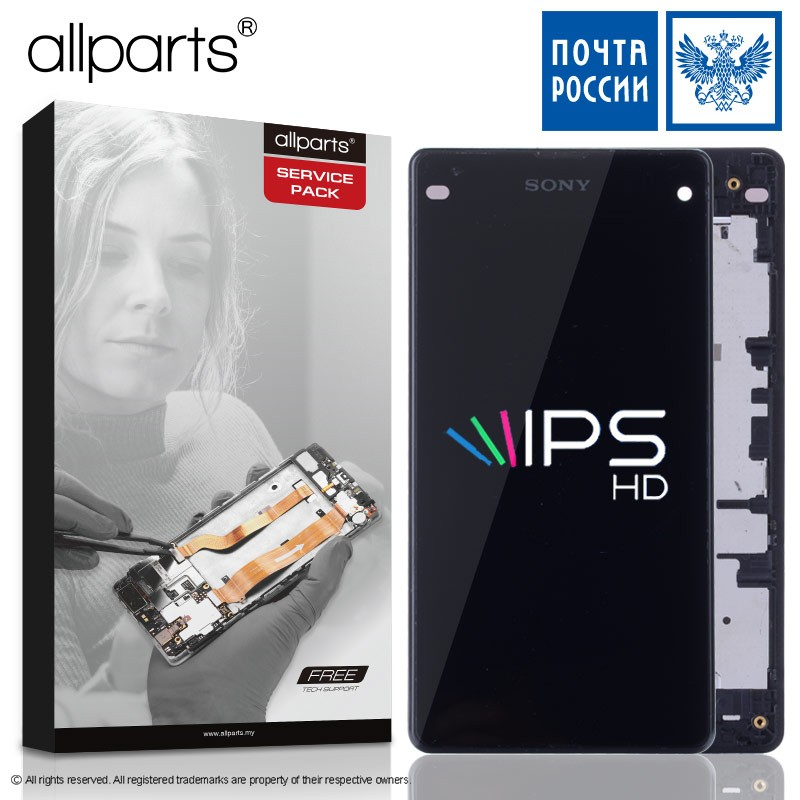 D'origine 4.6 IPS LCD pour SONY Xperia XZ1 Compact Affichage XZ1 MINI LCD avec Écran Tactile Digitizer pièces De Rechange