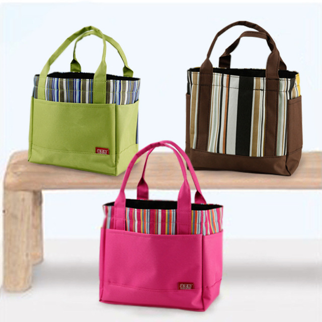 Bolsa Marmita Termica Small Lunch Bags Nylon Korean Bag Strap For S