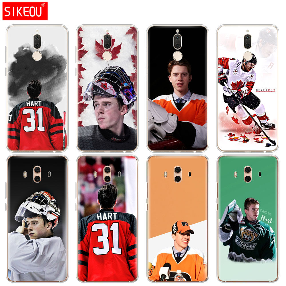 Silicone Cover phone Case for Huawei mate 7 8 9 10 pro LITE carter hart derek roy hockey