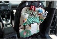 De dibujos animados Bebé Bolsas de Pañales para Mamá Bebé Viajes Nappy Bolsos Bolsa de viaje Bolsa de Almacenamiento Organizador Del Asiento de Coche de Bebé Colgando Del Asiento bolsa