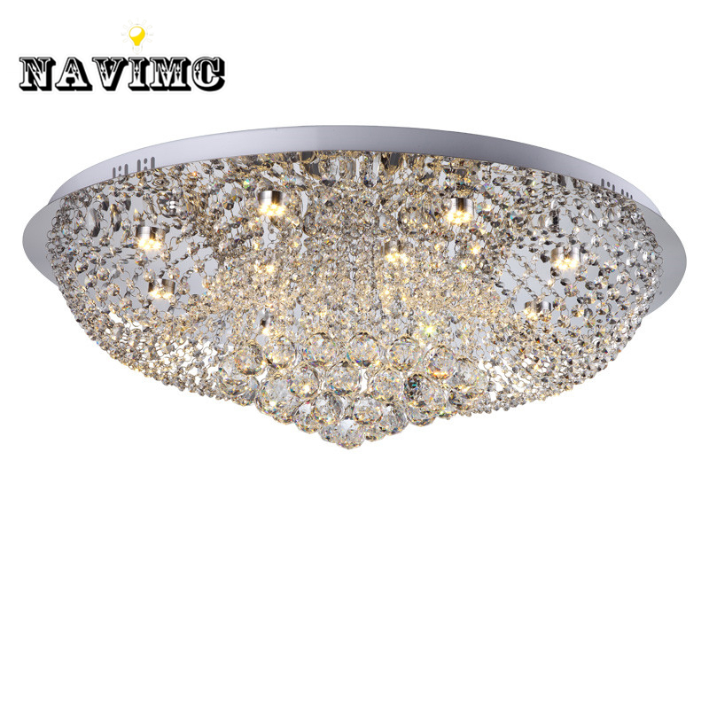 Diameter 400mm Crystal Ceiling Light Fixture Lamp lustres Crystal Light fitting for Foyer Hallyway bedroom MC0564
