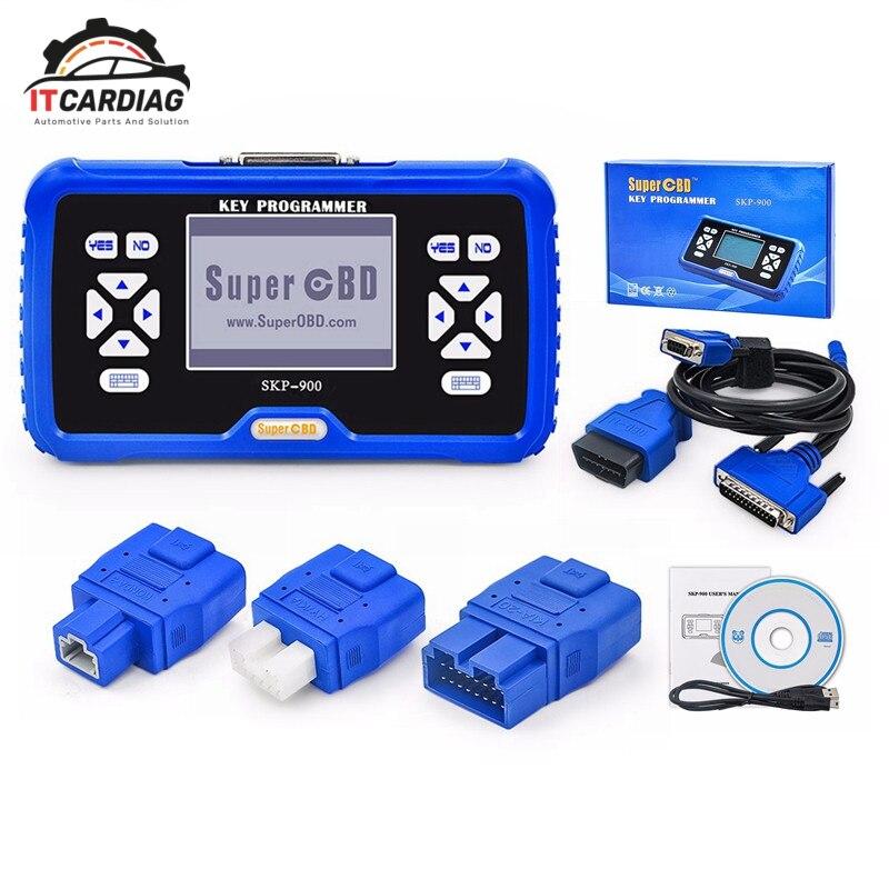 SKP900 SKP-900 SuperOBD programador chave auto-tempo de Vida Free Online Update Suporte Quase Todos Os Carros Original Versão Mais Recente V5.0