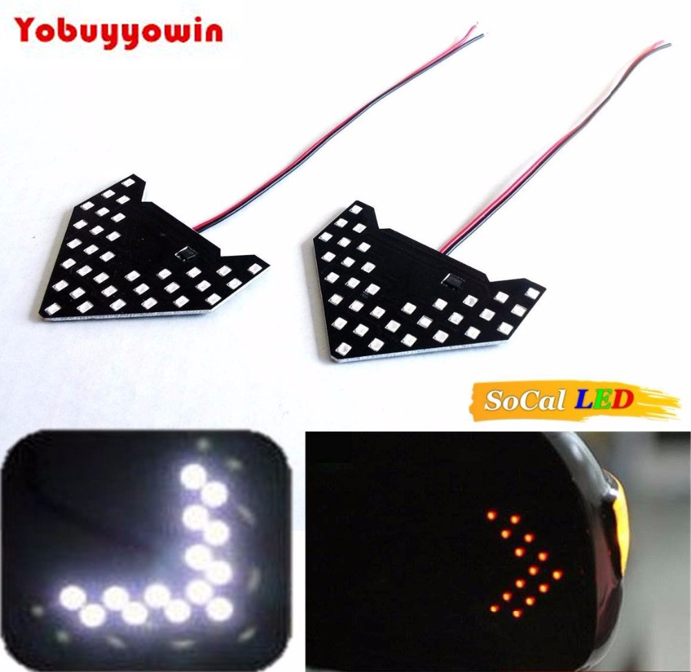 White Car Signal Bulbs 1210 33 SMD LED Panel, Ultra Slim Arrow Sign, Side Mirror Indicator Turn Signal Lamp, Sequential Flashing bus video led sign p5 flashing led route sign in china