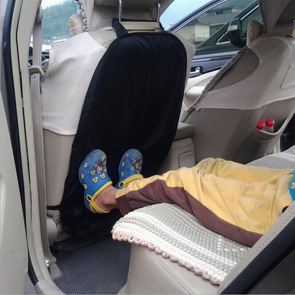 Auto Children Kick Mat Car Accessories Auto Seat Back Protector Cover Kids Children Kick Mat Mud Clean Car Care ...