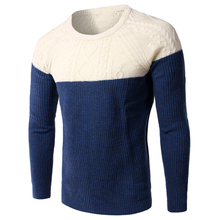 Casual Male Sweater Pullover Knitting Hot Fashion Cotton Sweater Warm Polo Sweater Brand Designer Mens Underwear Sweaters S095