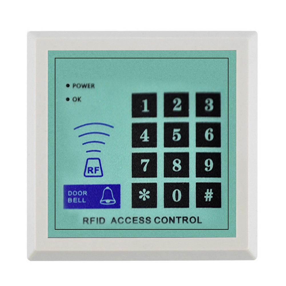 High quality and high security Security RFID Proximity Entry Door Lock Access Control System 500 User +10 Keys free shipping more cheaper high quality and high security rfid proximity entry door lock access control system1000 user 10 keys