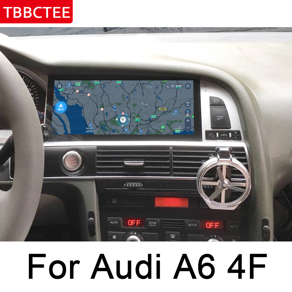 Per Audi A6 4F 2005 ~ 2009 MMI Auto Android Radio GPS Lettore Multimediale originale stile di Navigazione WiFi BT Touch schermo stereo mappa