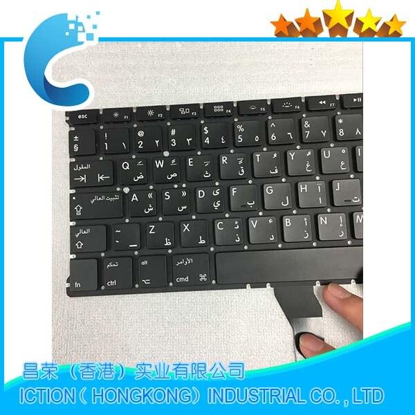 Brand New A1369 A1466 AR Arabic Keyboard For Apple Macbook Air 13 A1466 A1369 Keyboard Arabic Standard 2011-2015