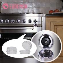 EUDEMON 6 шт. защита от детей Домашняя кухонная газовая плита для готовки кнопка управления переключатель защитная крышка протектор замок безопасности