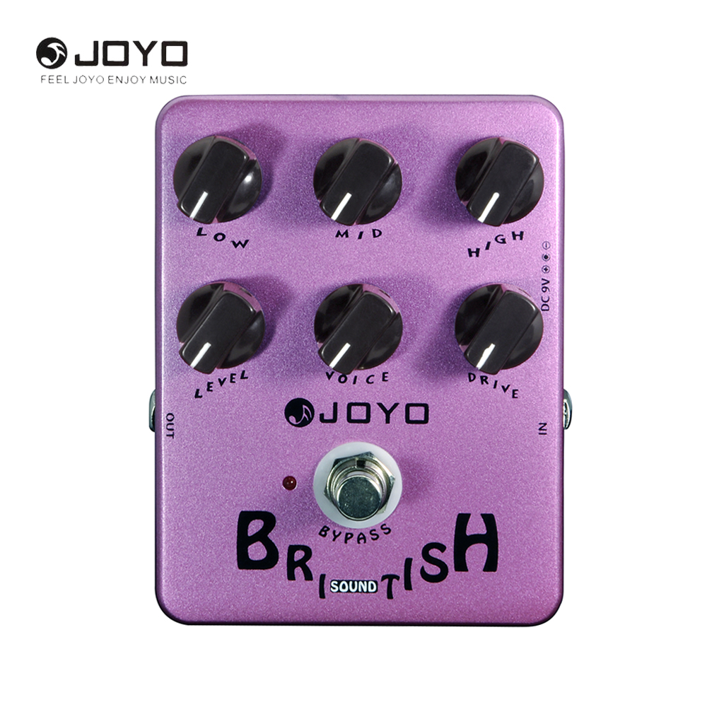 JOYO JF-16 British Sound Speaker Simulation Electric Overdrive Guitar Effect Pedal Guitar Accessory joyo jf 16 bypass design brithish sound guitar effect amplifier simulator pedal purple