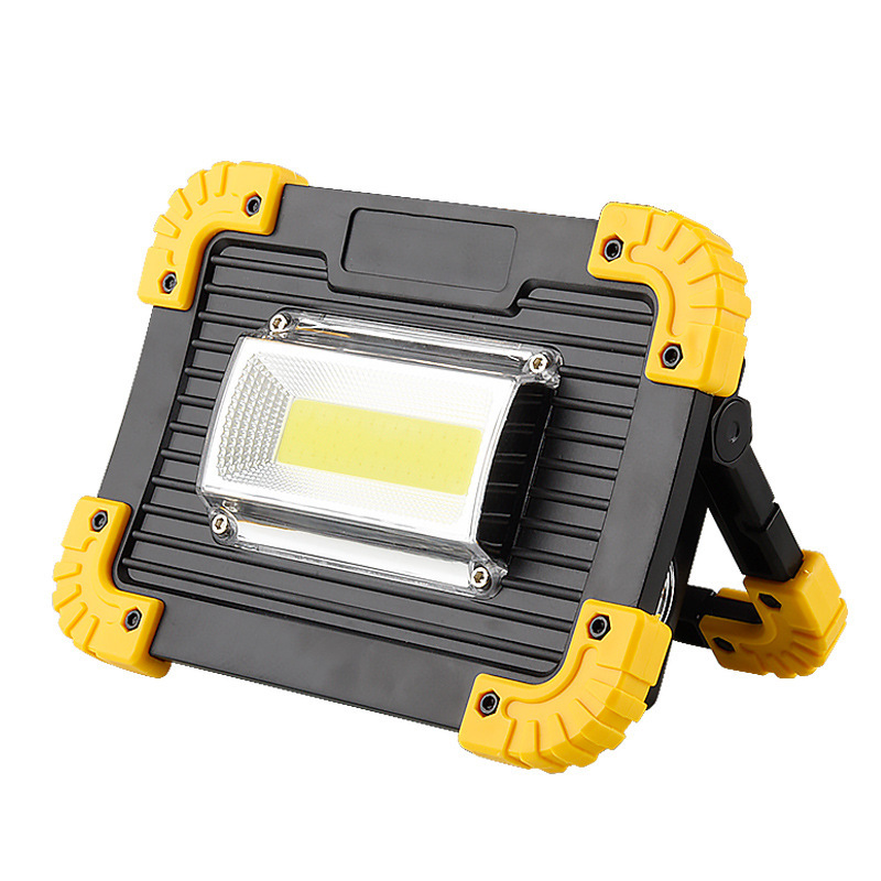Led lamps high power night LED flood light USB charging floodlights outdoor mobile portable work portable camping lights big promotion ultra bright cree xm l t6 led flashlight 5 modes 4000 lumens zoomable led torch 18650 battery charger clip