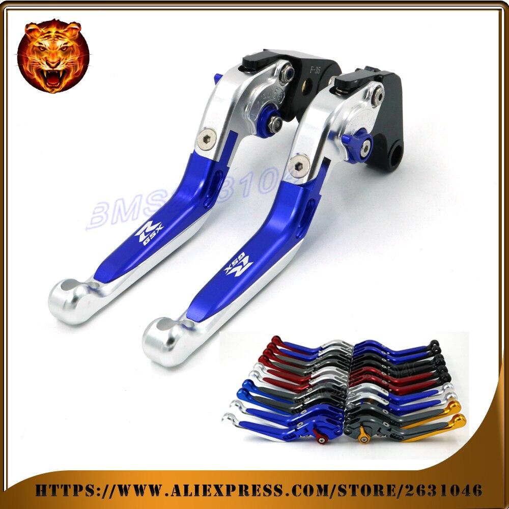 Adjustable Folding Extendable Brake Clutch Lever Motorcycle For SUZUKI GSXR GSXR1000 GSXR650 GSXR750 09 12 13 15 Free shipping alu new folding billet adjustable brake clutch levers for suzuki gsxr 600 750 1000 gsxr600 gsxr750 gsxr1000 09 10 11 12 13 14 15