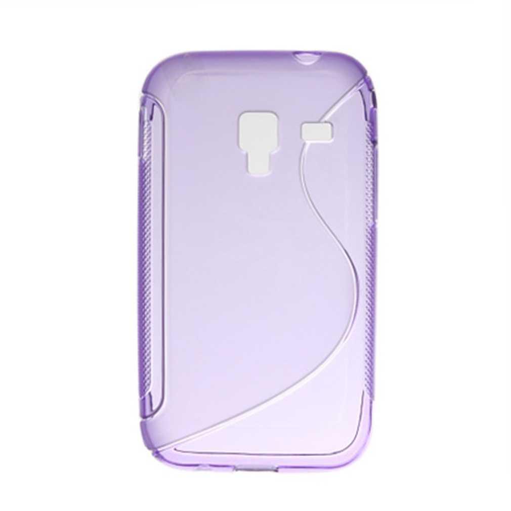 Molle Del Gel di TPU Della Copertura Della Cassa Del Telefono per Samsung Galaxy Ace Plus S7500